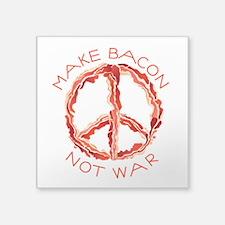 Peace of Bacon Sticker