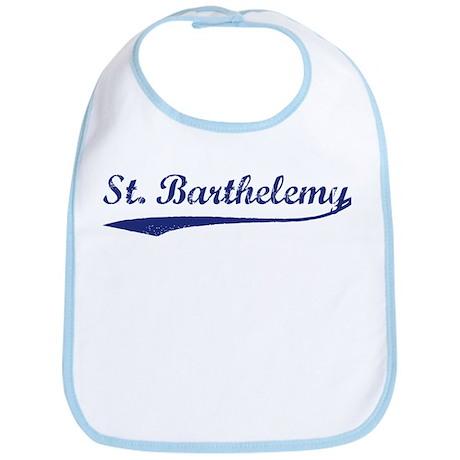 Blue Vintage: St Barthelemy Bib