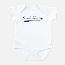 Blue Vintage: South Korea Infant Bodysuit