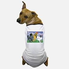 Three Brahmas Dog T-Shirt