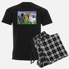 Three Brahmas Pajamas
