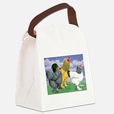 Three Brahmas Canvas Lunch Bag