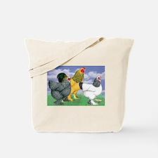 Three Brahmas Tote Bag