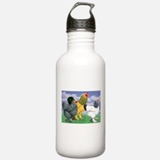 Three Brahmas Water Bottle