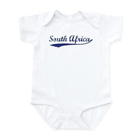 Blue Vintage: South Africa Infant Bodysuit