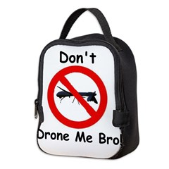 Dontdronemebro Neoprene Lunch Bag
