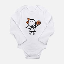 Girl & Basketball Body Suit