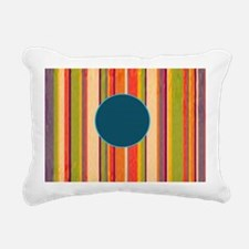 color barcode Rectangular Canvas Pillow