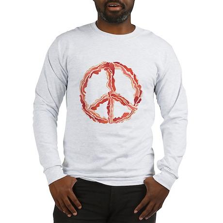 Peace of Bacon Long Sleeve T-Shirt