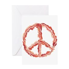 Peace of Bacon Greeting Cards