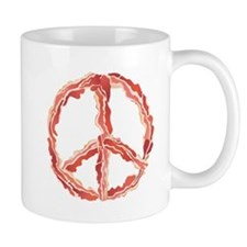Make Bacon Not War Mugs
