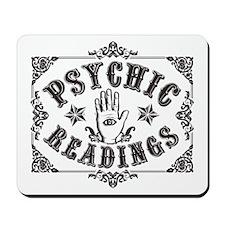 Psychic Readings black Mousepad