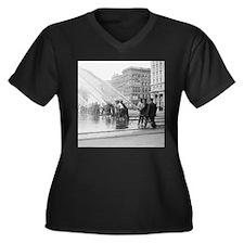 New York City Firemen Plus Size T-Shirt