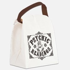 Psychic Readings black Canvas Lunch Bag