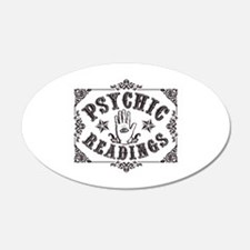 Psychic Readings black Wall Decal