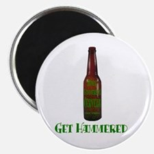 "Hammered Beer 2.25"" Magnet (10 pack)"