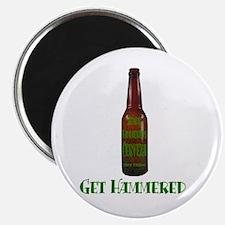 """Hammered Beer 2.25"""" Magnet (100 pack)"""