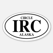 Circle Oval Decal