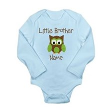 Personalized Little Brother Onesie Romper Suit