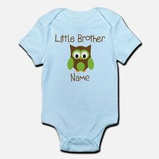 Personalized Little Brother Infant Bodysuit