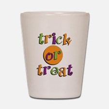 Trick or Treat 2 Shot Glass