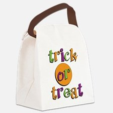 Trick or Treat 2 Canvas Lunch Bag