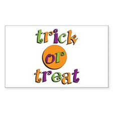 Trick or Treat 2 Decal