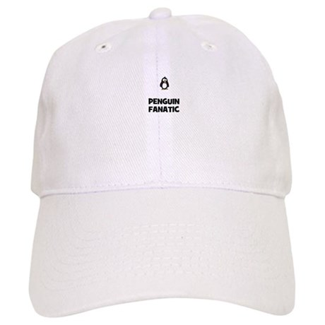 penguin fanatic Cap