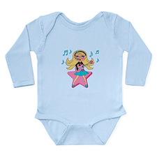 She's Rockin It Long Sleeve Infant Bodysuit