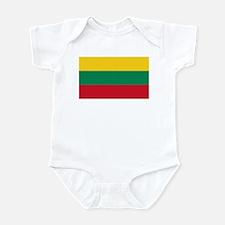 Flag of Lithuania Infant Bodysuit