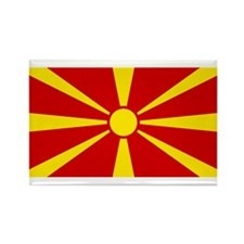 Flag of Macedonia Rectangle Magnet (100 pack)