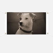 Puppy Portrait Banner
