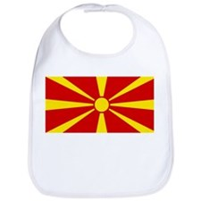 Flag of Macedonia Bib