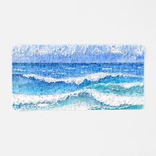 Lacy sea Aluminum License Plate