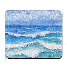 Lacy sea Mousepad