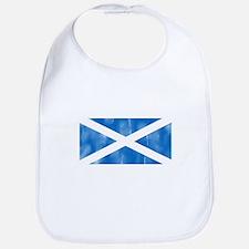 Aged Flag of Scotland Bib