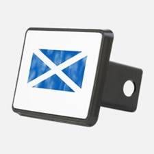 Aged Flag of Scotland Hitch Cover