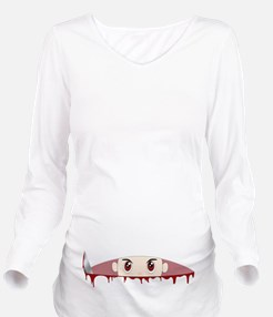 Self performed C-Section Long Sleeve Maternity T-S