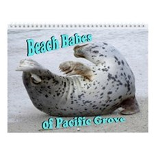Beach Babes of Pacific Grove Wall Calendar