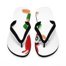 Woodpecker Flip Flops