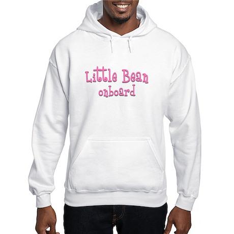 Little Bean onboard pink Hooded Sweatshirt
