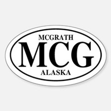 McGrath Oval Decal
