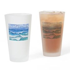 Lacy sea Drinking Glass