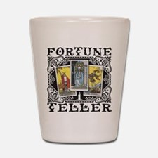 Fortune Teller black Shot Glass