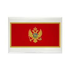 Flag of Montenegro Rectangle Magnet (100 pack)