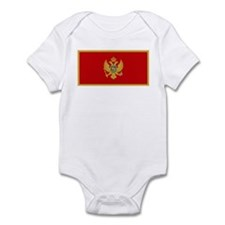 Flag of Montenegro Infant Bodysuit