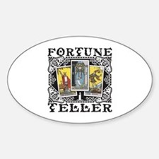 Fortune Teller black Decal