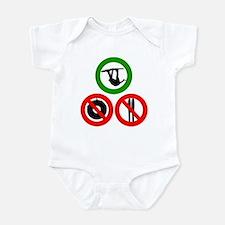 No tubes, no skis, just Wake! Infant Bodysuit