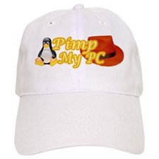 Linux Pimp Baseball Cap