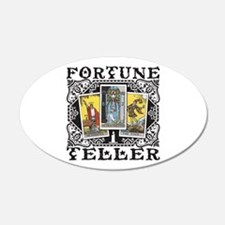 Fortune Teller black Wall Decal